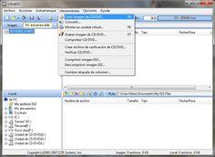 Pasos para crear una imagen ISO: 1. Abrimos el Ultra ISO, nos vamos a herramientas y elegimos crear imagen de cd/dvd.