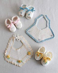 Picture of Vintage Bibs & Booties Crochet Pattern