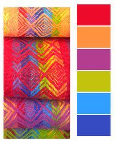 color palettes peruvian - Pesquisa Google
