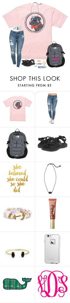 """""""Don't forget to enter the two contests I have going on! (Read D!)"""" by hopemarlee ❤ liked on Polyvore featuring Southern Proper, The North Face, Chaco, Kendra Scott, Brooks Brothers, Too Faced Cosmetics, LifeProof, Vineyard Vines, women's clothing and women"""