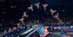 Nitro Circus Live is coming to the Gold Coast for one show only. This action sports spectacular is like nothing you will have seen before. Nitro Circus, Offroad, Samurai, Motocross Love, Dirt Bike Gear, Dirt Biking, Motosport, Monster Energy, Triumph Motorcycles