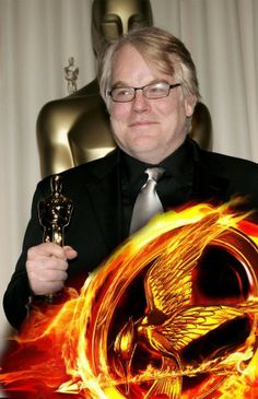 RIP - Philip Seymour Hoffman Catching Fire Plutarch Heavensbee