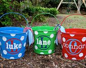 Love these buckets for Easter, bathroom supplies, playroom storage!