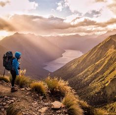 View from the Kepler Track. Not bad not bad at all.  #hakatours Pic: @youngadventuress