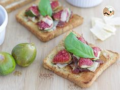 Receta Aperitivo : Tostas de higos, jamón y parmesano por Petitchef_oficial