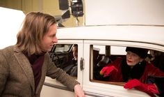 Behind the scenes of Wes Anderson's The Grand Budapest Hotel with Jeff Goldblum, Adrien Brody, Tilda Swinton, Jude Law and Jonathan Schwartzman. Photography by Martin Scali for W Magazine Grand Budapest Hotel, Wes Anderson Movies, Anjelica Huston, The Royal Tenenbaums, Emperors New Clothes, Movie Shots, Tilda Swinton, Feature Film, On Set