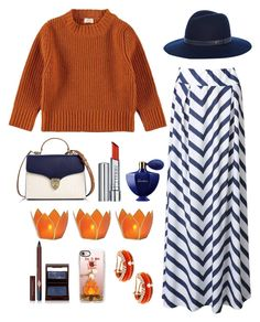"""""""Stripe skirt for fall"""" by im-karla-with-a-k on Polyvore featuring WithChic, Aspinal of London, rag & bone, By Terry, Guerlain, Cultural Intrigue, Charlotte Tilbury, Casetify and Adolfo Courrier"""