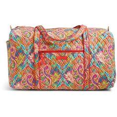 Vera Bradley Large Duffel 2.0 Travel Bag in Paisley in Paradise Vera Bradley  Duffel Bag adb23b466361a