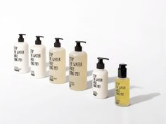 Great idea! Stop The Water While Using Me! on Packaging of the World - Creative Package Design Gallery