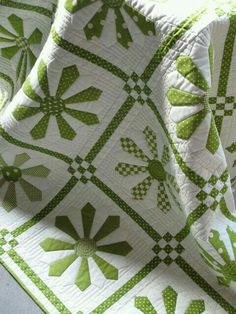 #Grandma's Pretty quilts I remember so well