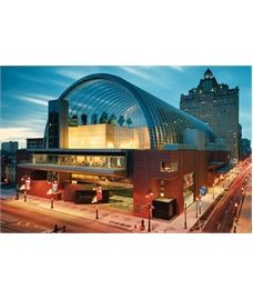 Lindapter Hollo-Bolts were specified to connect the arched trusses that form the 150ft high barrel-vault roof on the Kimmel Centre for the Performing Arts in Philadelphia. Find your authorised Lindapter distributor at www.lindapter.com