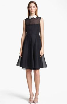 Valentino Organza #Dress #nordstrom