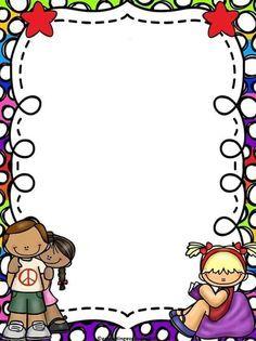 Resultado de imagem para Cute School Border and Frames