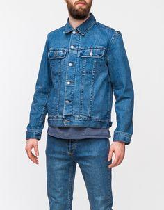 Washed New Blouson Denim Jacket