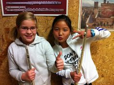 Flauta Travesera: Redacción de Lucía y Yuanji Las dos decidimos toca...