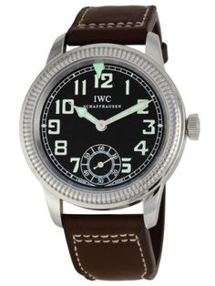 Mechanical hand-wind movement      Case diameter: 44 mm      Stainless steel watch      Durable sapphire crystal protects watch from scratches,      Water-resistant to 60 meters (200 feet)