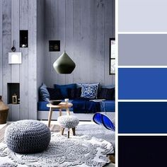 Interior Color Schemes Examples | modern bathroom • modern bedroom • modern living room