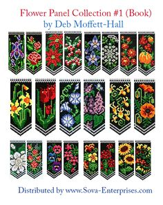 Flower Panel Collection #1