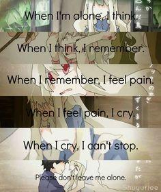 Truth in anime Sad Anime Quotes, Manga Quotes, Creepypasta Quotes, Anime Triste, Dark Quotes, Les Sentiments, Depression Quotes, True Quotes, Inspirational Quotes