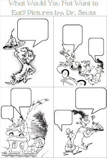Adventures in Tutoring and Special Education: Dr. Seuss Comic Strips