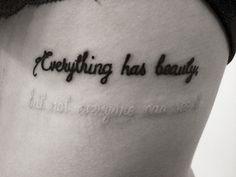 18 tatouages qui cachent un message. Cool !