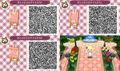 Alice in Wonderland Path QR Code ACNL (pink version 3/3)