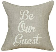 DecorHouzz Embroidered Pillowcases