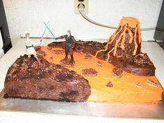 Kaleb's Star Wars Cake