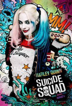 Suicide Squad posters : Margot Robbie est Harley Quinn