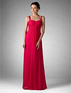 "Picture this ""blonde""....Empire Sweetheart Floor-length Chiffon Bridesmaid/Golden Glo... – USD $ 67.99"