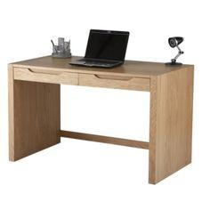 Alphason Designs Butler Desk with Drawers in Oak