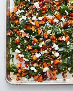 Quick and Easy Roasted Veggie Salad — Recipes from The Kitchn Roasted Vegetable Salad, Roasted Vegetables, Veggies, Easy Baked Chicken, Baked Chicken Breast, Keto Chicken, Sin Gluten, Gluten Free, Vegetarian Recipes