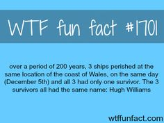 In 200 YEARS, 3 SHIPS PERISHED AT THE SAME LOCATION - WTF fun facts