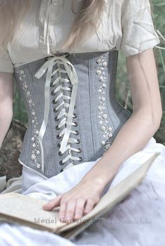 Corset LOVE THIS. I'd wear this with some cute jeans.