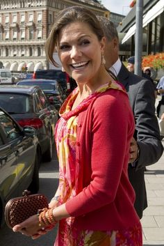 Royal court says Sweden's Crown Princess Victoria is pregnant with first child