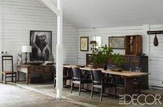 Happy anniversary, Portia de Rossi and Ellen DeGeneres! Take a look inside their ranch in the Santa Monica Mountains. #home #sweethome #bathroom #decor #design