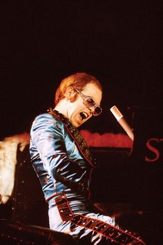 Elton John by David Redfern