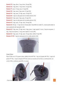Fritz The Frog Amigurumi Pattern - ideas hermosas y diferentes Amigurumi Patterns, Doll Patterns, Amigurumi Tutorial, Crochet Doll Pattern, Crochet Patterns, Batman Crochet, Easy Crochet, Free Crochet, Free Pattern