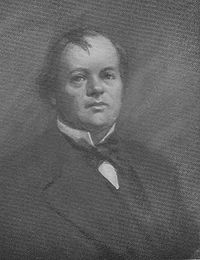 William Palmer, also known as the Rugeley Poisoner or the Prince of Poisoners, was an English doctor found guilty of murder in one of the most notorious cases of the 19th century. He was convicted for the 1855 murder of his friend John Cook, and was executed in public by hanging the following year. He had poisoned Cook with strychnine, and was suspected of poisoning several other people including his brother and his mother-in-law, as well as four of his children.