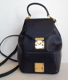 """This item is sold, please refer to our website www.onesavvydesignconsignment.com Vintage Fendi Backpack $359 9.5"""" length x 9"""" width   One Savvy Design Consignment Boutique 74 Church Street, Montclair, NJ 973-744-0053  www.onesavvydesign.com"""