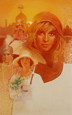 Ilustração por Drew Struzan http://designartes.com.br/artes/design-de-poster-de-cinema-de-drew-struzan/