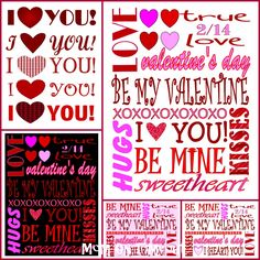 Here are three different Valentine's Day printables (with different background colors) just for you! Just scroll down, choose your favorite, right click on the image and choose Save As. Save the image and print it out! Or you can download the printables by clicking on the download here below the images.(These printables can be framed …