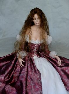 """Tom Francirek- hard to beleive these are """"dolls""""..art !"""