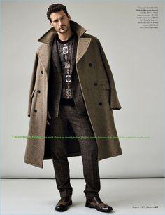 Sam Webb & Jacob Coupe Don Glen Plaid Fashions for Esquire - The Fashionisto