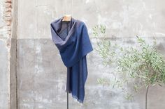 Gobi shawl. Hand made Yak and merino wool