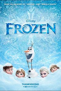 Frozen (2013) - A great movie to take the family to this weekend. #movies #intheaters