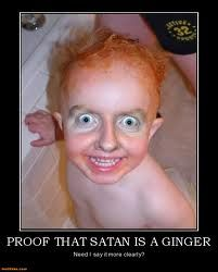 funny looking ginger people