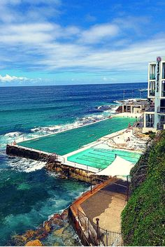 The Bondi Beach Icebergs Club- one of the must-dos in Sydney, Australia.