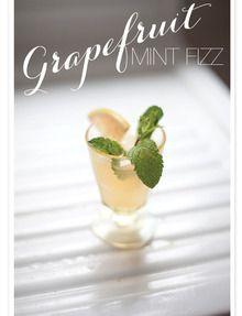 A well stocked bar is a must in our book. It'sthe golden ticket to fabulous feting.So too is having just the right cocktail for an event. Now enterGray Harper Event Makeralong withJade   Matthew Take Pictureswho have so graciously whipped up the tastiest looking cocktail. It goes by the monikerThe Grapefruit Mint Fizz and with…