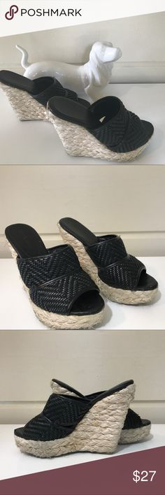 BCBG ADORABLE STYLISH SUMMER WEDGES BCBG ADORABLE STYLISH SUMMER WEDGES SIZE 6.5 THESE WEDGES LOOK GREAT WITH SUMMER DRESSES AS WELL AS SKINNY JEANS 👖 BCBG Shoes Wedges